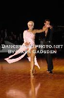 David Byrnes & Karla Gerbes at National Capital Dancesport Championships