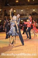 David Byrnes & Karla Gerbes at Blackpool Dance Festival 2008