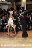 David Byrnes & Karla Gerbes at Blackpool Dance Festival 2009