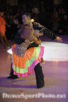 Alex Hou & Melody Hou at Blackpool Dance Festival 2008