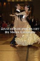 Michael Glikman & Milana Deitch at Crown Dancesport Championship 2011