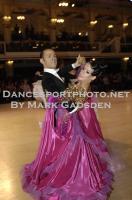 Michael Glikman & Milana Deitch at Blackpool Dance Festival 2012