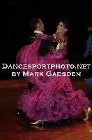 Michael Glikman & Milana Deitch at FATD National Capital DanceSport Championship