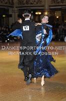 Michael Glikman & Milana Deitch at Blackpool Dance Festival 2009