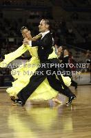 Michael Glikman & Milana Deitch at 63rd Australian Dancesport Championship 2009