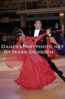 Michael Glikman & Milana Deitch at Blackpool Dance Festival 2010