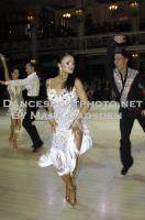 Kirill Belorukov & Elvira Skrylnikova at Blackpool Dance Festival 2012