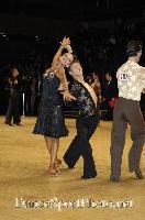 Kirill Belorukov & Elvira Skrylnikova at UK Open 2007