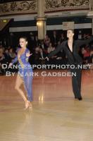 Dominik Rudnicki-Sipajlo & Adrianna Lojszczyk at Blackpool Dance Festival 2011