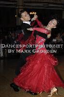 Luca Rossignoli & Veronika Haller at Blackpool Dance Festival 2009