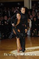 Franco Formica & Oxana Lebedew at Blackpool Dance Festival 2007