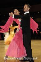 Alexandre Chalkevitch & Larissa Kerbel at UK Open 2007