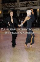 Andre Paramonov & Natalie Paramonov at Blackpool Dance Festival 2009
