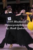 Maciej Kadlubowski & Maja Kopacz at Blackpool Dance Festival 2014