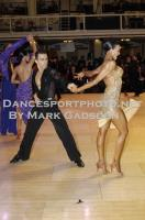 Denys Drozdyuk & Antonina Skobina at Blackpool Dance Festival 2010
