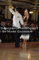 Joshua Keefe & Sara Magnanelli at Blackpool Dance Festival 2011