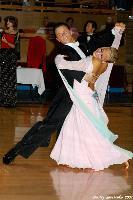 Sandris Cirulis & Kristine Jaunzeme at Kyiv Open 2004