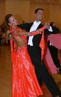Anton Lebedev & Anna Borshch at Yankee Classic Championships