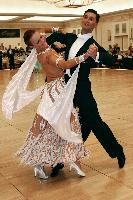 Anton Lebedev & Anna Borshch at The Yankee Classic 2008