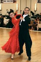 Max Sinitsa & Lela Sinitsa at The Yankee Classic 2008