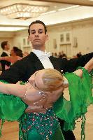 Paolo Di Lorenzo & Liene Darbiniece at The Yankee Classic 2008