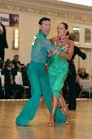 Rene Ostarek & Bronislava Vrtalova at The Yankee Classic 2008