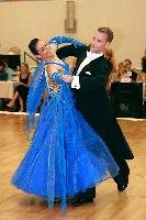 Alex Spencer & Katarzyna Herink at The Yankee Classic 2008