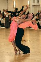 Andrey Strinadko & Olga Kinnard at The Yankee Classic 2008