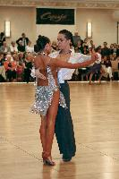 Peter Gelzhinsky & Mila Burdan at The Yankee Classic 2008