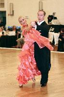 Grzegorz Fidurski & Gabriela Jileva at The Yankee Classic 2008
