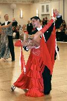 Vlad Popov & Darya Sushko at The Yankee Classic 2008