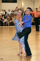 Nicolas Nguyen & Kathryn Wepfer at The Yankee Classic 2008