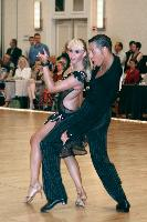 Maxim Belozerov & Kristina Avsyukevich at The Yankee Classic 2008