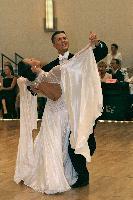 Ruslan Meshkov & Aleksandra Nema at The Yankee Classic 2008