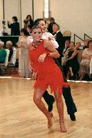 Sergey Onik & Nicole Volynets at The Yankee Classic 2008