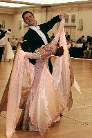 Donatas Nacajus & Luisa Bykova at The Yankee Classic 2008
