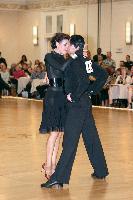 Ilya Ifraimov & Nadia Goulina at The Yankee Classic 2008
