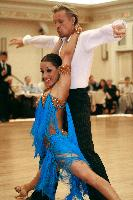 Andrey Sviridenko & Julia Zubova at The Yankee Classic 2008