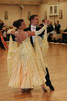 Brian Lundell & Kyla Ramsay at The Yankee Classic 2008