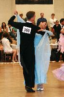 Vasyl Makarov & Grace Fu at The Yankee Classic 2008