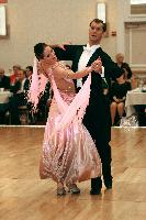 Anatoli Gorolevici & Irina Gorolevici at The Yankee Classic 2008