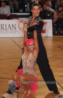 Daniel Camacho & Carolina Estefania Perez at Austrian Open Championships 2012