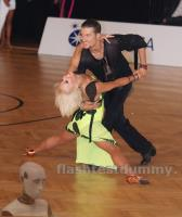 Jan Albeck & Zsofia Garbe at Austrian Open Championships 2012