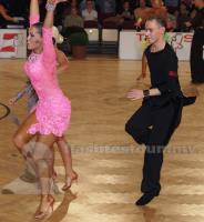 Ivan Klyuev & Mariya Orlova at Austrian Open Championships 2012