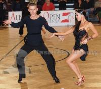 Yaroslav Galay & Kateryna Klishyna at Austrian Open Championships 2012