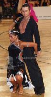 Oleksandr Brezhnyy & Olga Golovko at Austrian Open Championships 2012