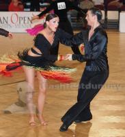 Petar Daskalov & Christine Hojmark Thomsen at Austrian Open Championships 2012
