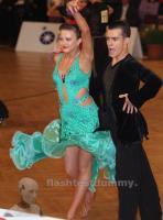 Dmitriy Bayanov & Olga Voronina at Austrian Open Championships 2012