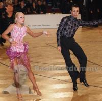 Salvatore Bellavita & Natalya Polyakova at Austrian Open Championships 2012