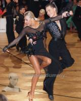 Marek Bures & Ekaterina Kalish at Austrian Open Championships 2012
